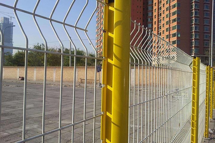 小区护栏网应用实景