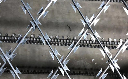 刀片刺绳网片
